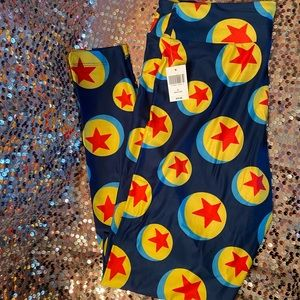 Disney Parks Pixar Ball Leggings